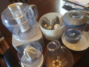 Food processor plus other attachments