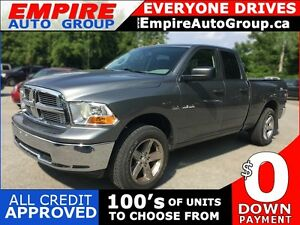2010 DODGE RAM PICKUP 1500 SLT * 4WD * POWER GROUP