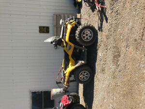 2005 and 2008 can am 400
