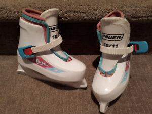 Girls Bauer Skates