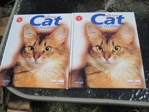 Cat Encyclopedia Books,  #3 and #4