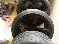 """Custom made 19"""" Jade R Wheels BMW E46 E90's"""