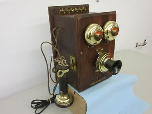 Very Old Antique Telephone / working  (Approx. 1905)
