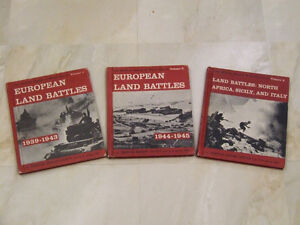 18-book set about WWII by U.S. Army Colonel