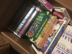 Vintage VHS Collection & VHS/DVD Recorder