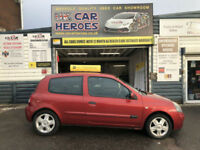 2005 RENAULT CLIO 1.2 EXTREME 3 DOOR 75 BHP ( AA ) WARRANTY INCLUDED