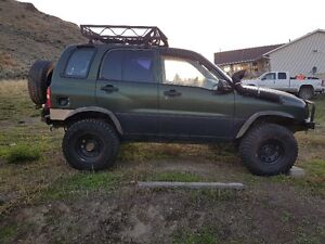 Chevrolet Tracker 4x4 - Off-Road Hunter Special