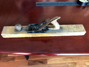 Antique wooden jointer plane