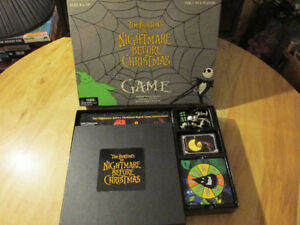Neca Tim Burton NIGHTMARE BEFORE CHRISTMAS Board Game Sally Jack