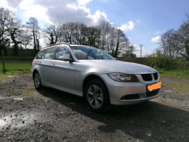 BMW 320d SE Touring spares or repairs