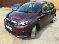 2017 Peugeot 108 1.0 Active 5 Doors Manual Very Low Mileage Full Service History