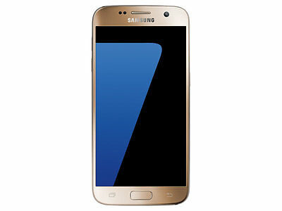 New Unlocked Verizon Samsung Galaxy S7 SM-G930 32GB Gold Platinum Smartphone
