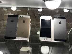 iphone 5s SE et 6s comme neuf avec garantie , débloqué