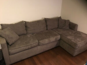 Olive sectional couch