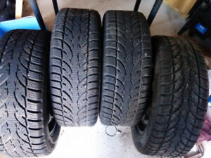 4 205/55/16 rims and tires in excellent condition