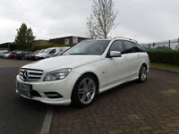 Mercedes C180 T CDI AMG Blue Efficiency Auto. Estate Left Hand Drive(LHD)