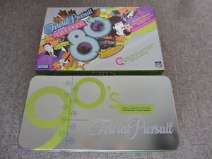 Trivial Pursuit Board Game - 1980s or 1990s Edition