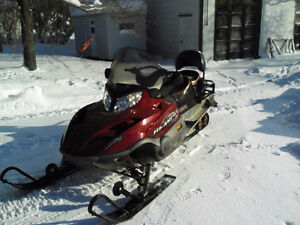 Motoneige Arctic Cat Bearcat 660 turbo WT 2008