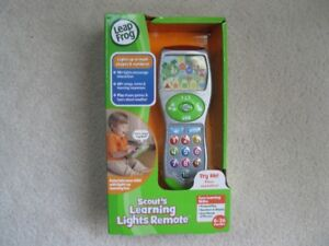 Leap Frog Scouts Learning Light Remote (Brand New In Box)