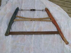 OLD BUCK SAW;; IDEAL TO HANG ON THE COTTAGE WALL ETC