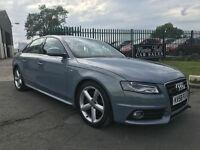 58 plate Audi A4 3.0 TDI quattro S Line Diesel NAV 68,000 miles FSH