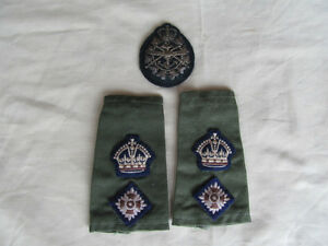Canadian Military flashes and badges  etc