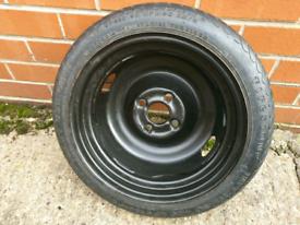 Unused firestone spare wheel T105/70R14