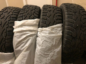 4 HERCULES WINTER HSI-S 185/65R15 88T TIRES