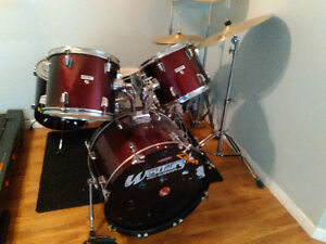westbury drum set dirt cheap for what you get