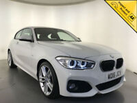 2016 BMW 116D M SPORT DIESEL 3 DOOR HATCHBACK 1 OWNER SAT NAV FINANCE PX