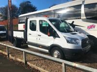 2016 16 NEW SHAPE FORD TRANSIT 2.2TDCi ( 125PS ) RWD 350 L3H1 CREW CAB TIPPER