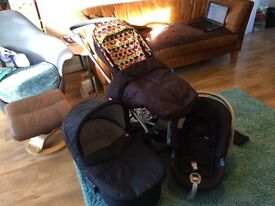 Mamas and Papas Sola 3 in 1 Travel System
