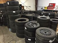 WINTER TIRE BLOWOUT - USED