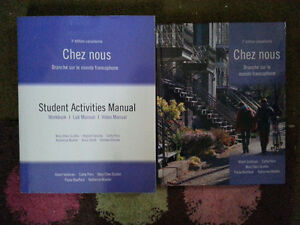 University French Textbook & Workbook