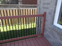 Spindles for deck railing Barrie