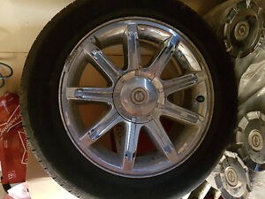 Chrysler 300c rims with summer tires