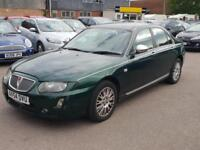 Rover 75 2.0 CDTi Connoisseur SE Automatic, Facelift, Leather, History