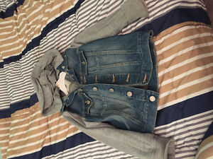 Size 7-8 jean jacket for boys