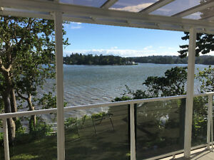 3 bedroom waterfront house available July 15