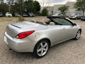 2007 Pontiac G6 GT Convertible, Excellent.