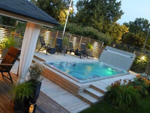 Pool or Hot Tub?  Get the Best of Both in a TidalFit Swim Spa