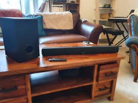 AZTOM Cinemax Bluetooth Soundbar and Subwoofer