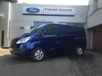 NEW Ford Transit Custom 2.0TDCI 130PS 270 SWB Limited in Blue+ Roof Rack- OnsitE