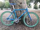 No Logo (48cm) single speed fixie bike in A* nick (Martian Manhunter)