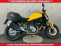 DUCATI MONSTER 821 ABS DTC SIDE LUGGAGE 12 MONTH MOT 2018 18