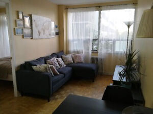 1bdrm in a 2bdrm apt (furnished). Downtown! Includes ALL fees!