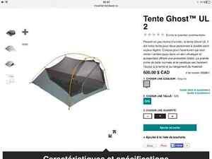 Tente Mountain Hardware 2 places légère