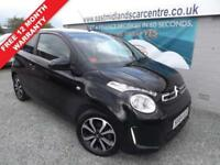 2014 64 CITROEN C1 1.0 FLAIR 3D 68 BHP PETROL BLACK