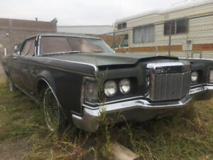 1969 Lincoln Mark III coupe