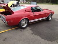 1967 1968 Mustang Shelby parts